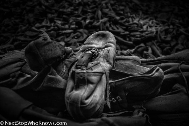 kids shoes auschwitz
