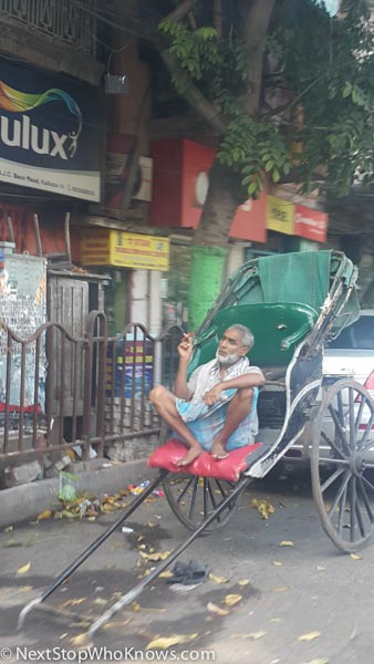 bicycle driver india