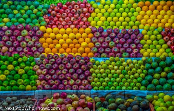 fruit on the street india