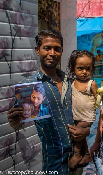 father and daughter india