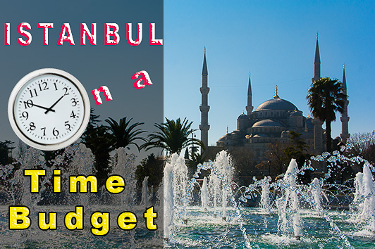 time budget in Istanbul