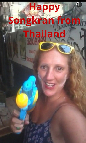journalist on the run snapchat