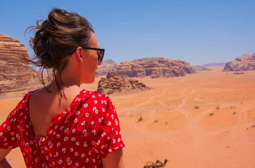 lookout point wadi rum