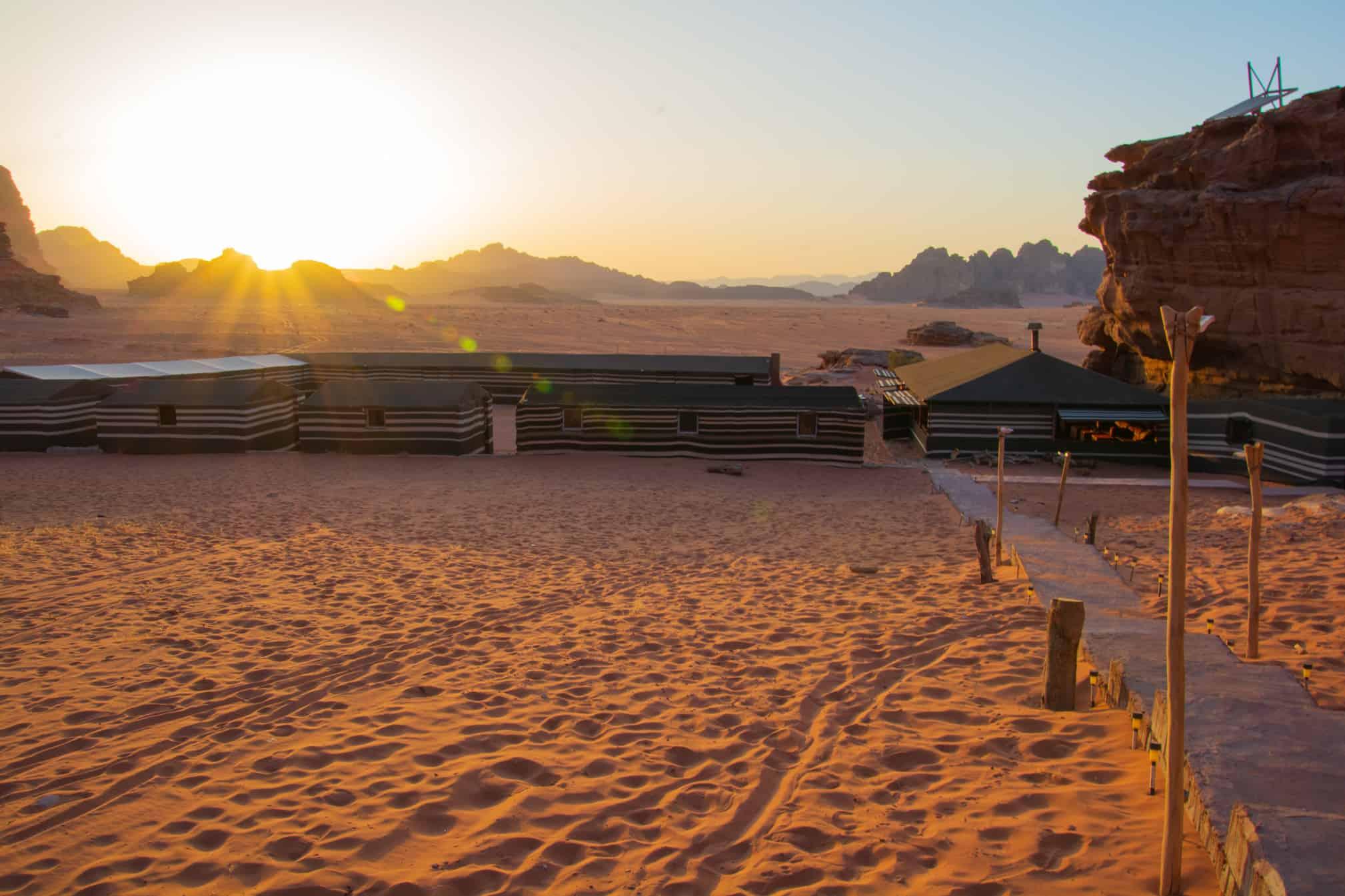 beduin life camp wadi rum