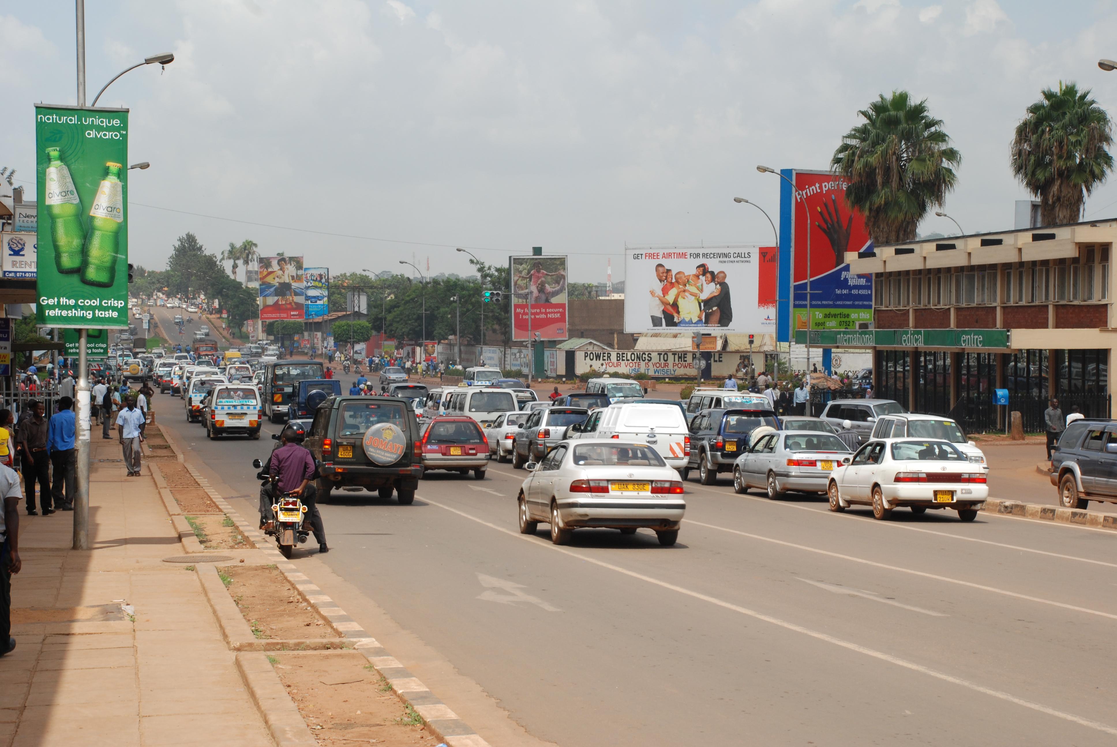 Back in Uganda!