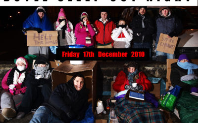 Sleep out night for Simon Homeless Community!