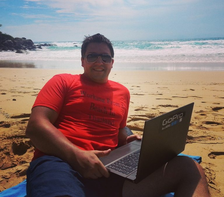 How to be Productive When your Office is a Beach