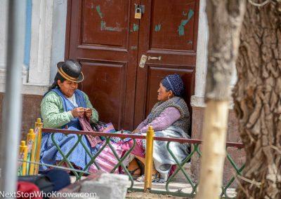 Local Cholitas, Bolivia