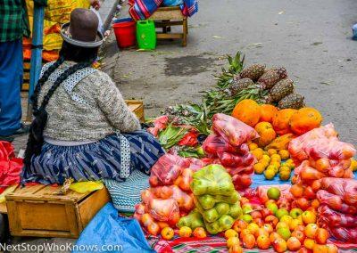 Fruit Market, Bolivia