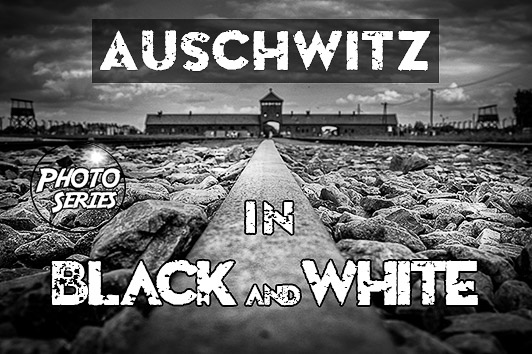 Auschwitz: Black and white photo series