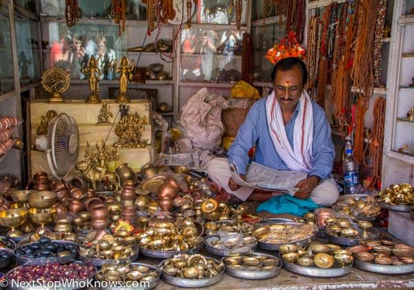 Shop Owner, India