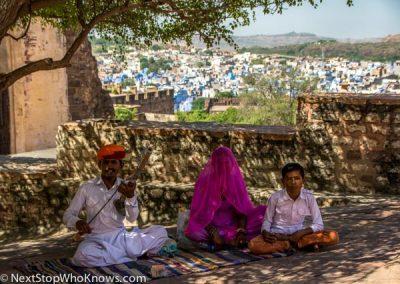 Local Family in Jodhpur, India