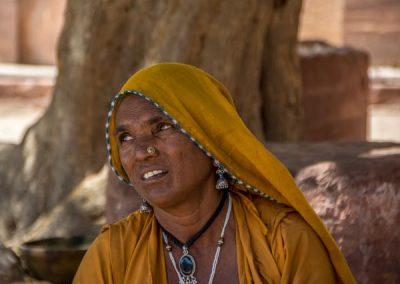 Local Woman in Jodhpur, India