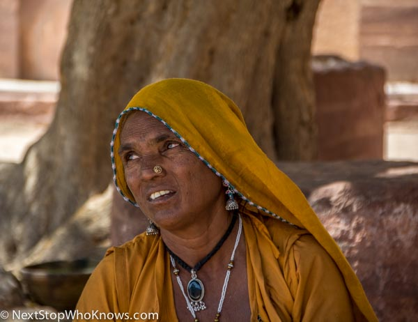 Local Woman in Jodhpur, India