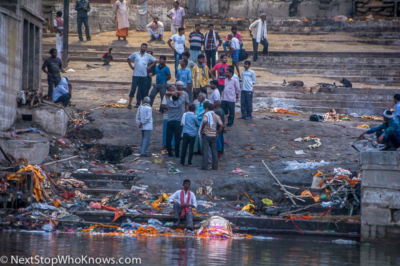 Burning Bodies in Varanasi, India