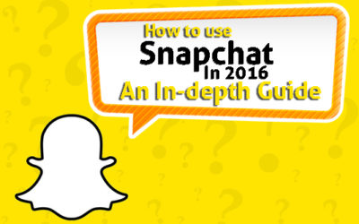 How To Use Snapchat In 2016: An In-depth Guide