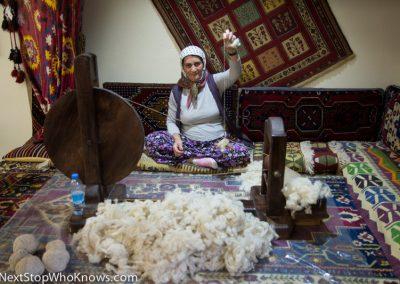 Making Carpets, Turkey