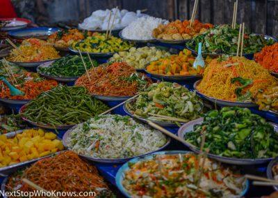 Food at a Local Market, Thailand