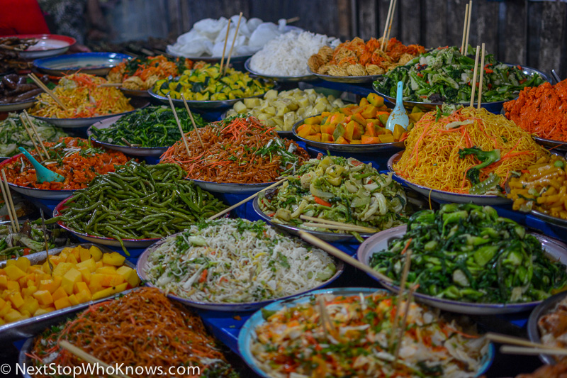 Food at a Local Market, Thailand