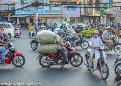 Busy Road in Hanoi. Vietnam