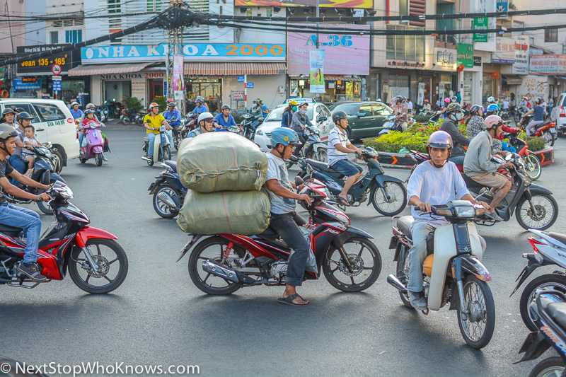 Busy Road in Hanoi. Vietnam