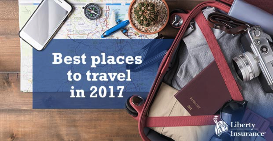 Best places to travel in 2017