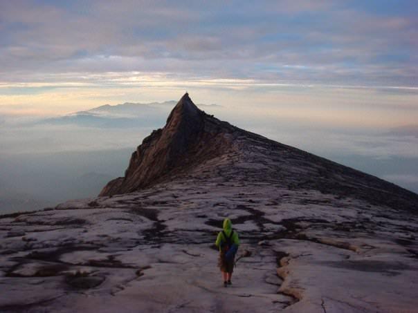 Johnny on Mt Kinabalu