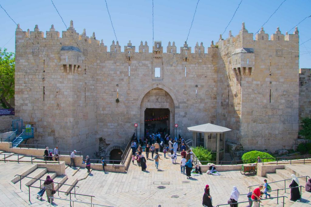 entrance to the old city of jerusalem