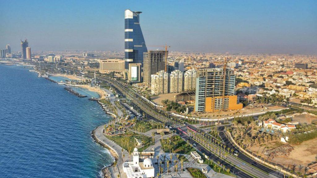 saudi arabia aerial view
